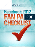Facebook FanPage Checklist-MariSmith
