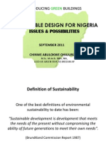 Green Buildings for Nigeria
