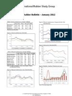 Monthly Rubber Bulletin Jan
