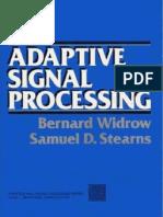 Adaptive Signal Processing (Widrow)