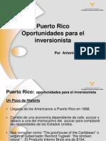 puerto rico oportunidades para el inversionista