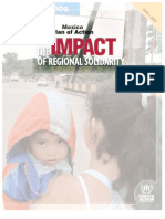 Mexico Plan of Action. The impact of regional solidarity
