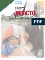 Plan de Acción de México. El impacto de la solidaridad regional
