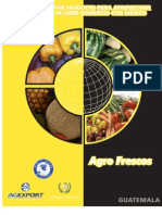 guia Mexico-Guatemala sector alimentos frescos