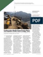 Green Energy Earthquake