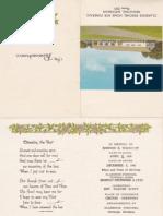 George R Westcott -Funeral Card - Wife is M. Kennedy Dau. of Angus J. Kennedy Jr