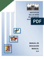 Manual de Musica en Prescolar