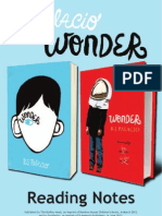 WONDER by R.J. Palacio Reading Group Questions
