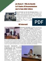 Centro Documentazione Villa de Sanctis - Inaugurazione 18Feb2012