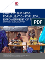 USAID Land and Bus Formalization Paper