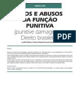 Usos e Abusos da Função Punitiva (punitive damages e o Direito brasileiro)