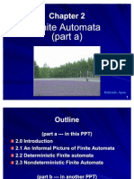 Chapter 2 (Part a) Finite Automata