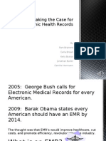 Making the Case for Electronic Health Records