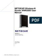 Netgear WNR2000 v1.3 Manual