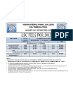 Learning Support Ctr Fees_vision Bible College