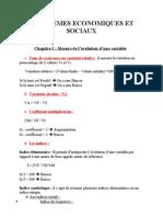 Problemes Economiques Et Sociaux (Chap.1)