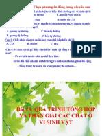 Bai 23 Qua Trinh Tong Hop Va Phan Giai Cac Chat o Vsv