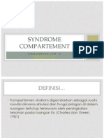 Syndrome Compartement