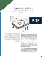 Lectura y escritura en México. Tercer tema