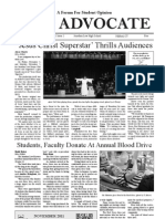The Advocate - November 2011 - 20 Pages