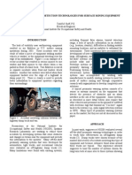 Advances in Proximity Detection Technologies for Surface Mining Equipment