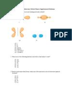 Chem 112- Molecular Orbital Theory Supplemental Problems