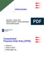 CPOE for Health Tech Net