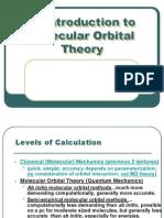 An Introduction to Molecular Orbital Theory