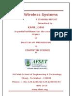 4g Wireles System