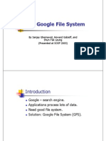 The Google File System 20 Final
