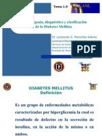 Etiopatogenia, diagnóstico y clasificación
