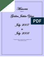 Memories Golden Jubilee Year