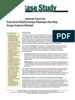ITSMA Case Study of Avaya Customer Councils