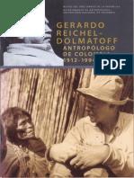 Gerardo Reichel Dolmatoff Antropologo de Colombia