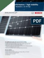 Bosch Solar Module c Si M 60 EU 30117 Englisch Monitor
