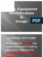 Copy of Basic Equipment & Usage