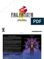 Final Fantasy VIII - Game Manual