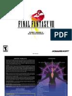 Final Fantasy VIII - Game Manual