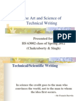 1. the Art Sc of Tech Writ