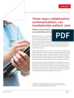 Avaya_Collaboration Solutions for Healthcare