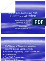 Dispersion Modeling 101
