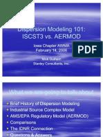 Dispersion Modeling 101