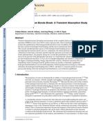 Tobias Steinel et al- Watching Hydrogen Bonds Break