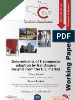 Determinants Franchisors e Commerce
