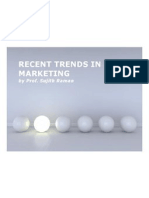 Recent Trends in Marketing