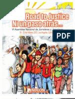Programa por la 6to asamblea nacional de NDLON