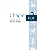 Animals Chapter 9 Animal Use in Toxicity Studies
