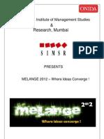 Quizwiz Melange 2012 Round 2