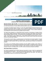 Montréal Climate Exchange launches first Canadian environmental market