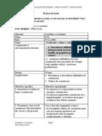 Proiect Dirigentie Si Scenariul Lectiei 2006